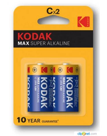 Элементы питания Kodak MAX LR14-2BL (KC-2)