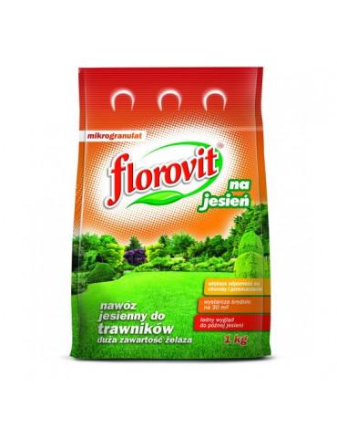Удобрение гранулированное для газонов осеннее 3кг FLOROVIT