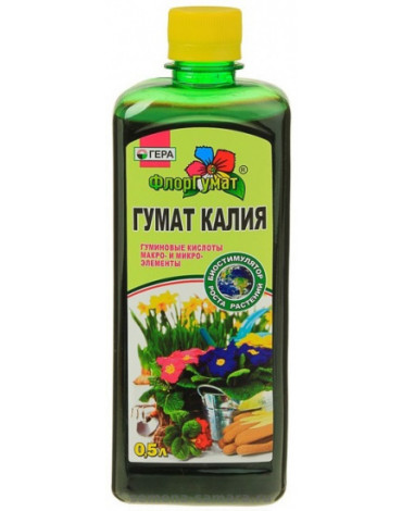 ФлорГумат  Гумат калия  0,5л