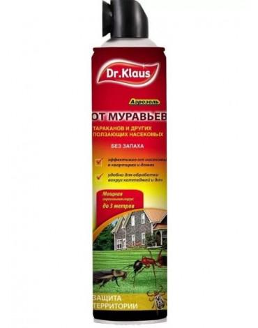 Аэрозоль Атак от муравьёв и др. насекомых 600мл Dr.Klaus