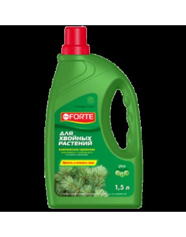 Жидкое комплексное удобрение для хвойных растений 1,5л BONA FORTE