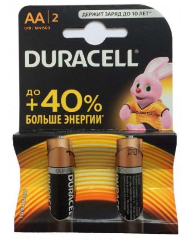 Элемент питания Duracell LR6-2BL MN1500