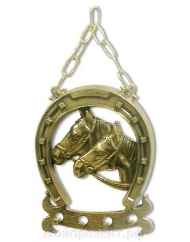 """Ключница""""Подкова"""" (бронза,латунь) AL80.306"""