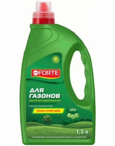 Жидкое комплексное удобрение для газонов 1,5л BONA FORTE