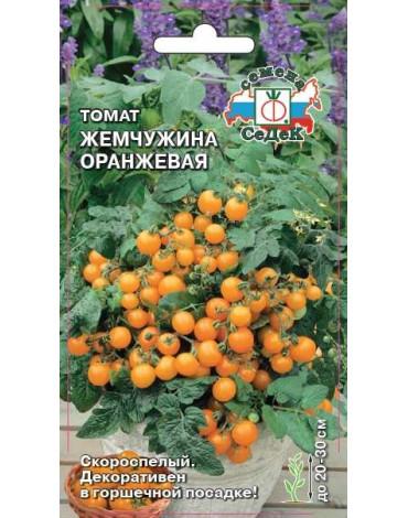 Томат Жемчужина оранжевая (Седек)