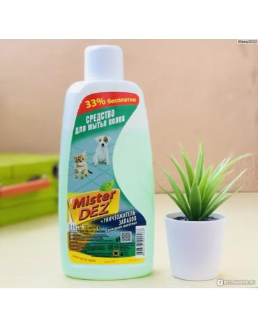 Средство д/мытья полов+уничтожитель запахов Mister Dez. 750мл 1274156