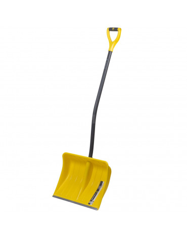 """Лопата снеговая пластик """"Эксперт Викинг"""" 500*390мм с накл.с метал.эргон.чер Y-ручка"""