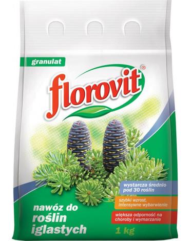 Удобрение гранулированное для хвойных растений 1кг FLOROVIT