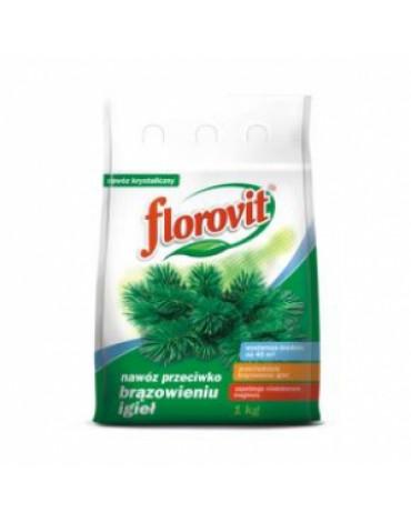 Удобрение гранулированное против побурения хвои  1кг FLOROVIT
