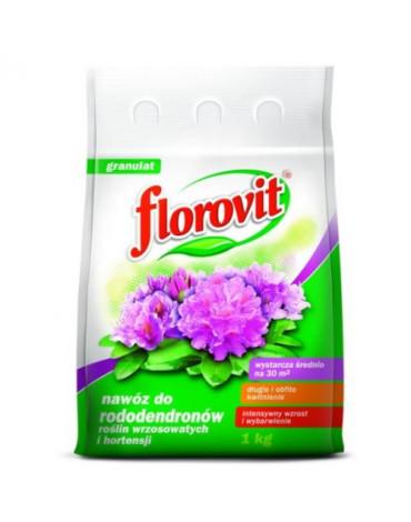 Удобрение гранулированное с для рододендронов,вересковых,гортензий 1кг FLOROVIT