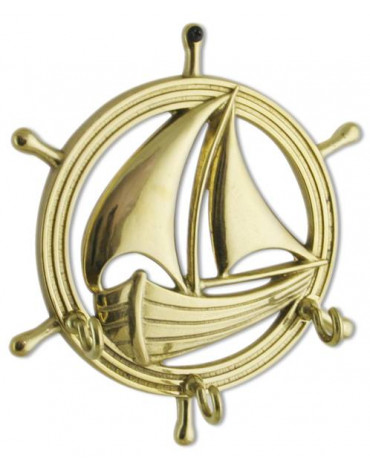 "Ключница""Ладья"" (бронза,латунь) AL80.303"
