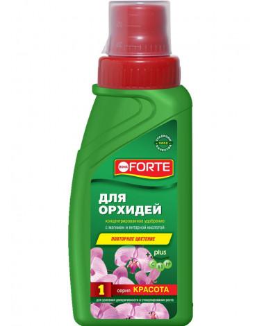 """Жидкое комплексное удобрение для орхидей """"Красота"""" 285мл BONA FORTE"""