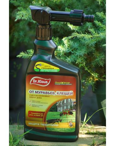Эжектор Insect Super (Концентрат) от муравьёв,клещей,др.насекомых 1л Dr.Klaus