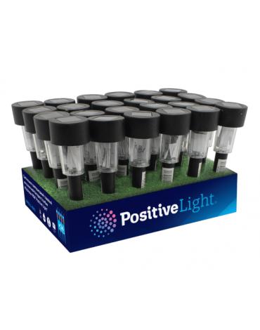 """Садовый светильник на светодиодной бат Столбик Multicolor RGB """"Positive Light"""""""