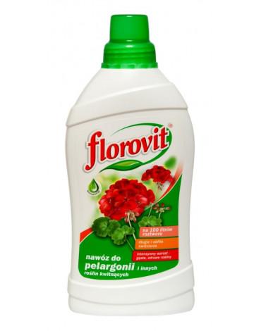 Удобрение жидкое садовое для пеларгонии 1,0л FLOROVIT