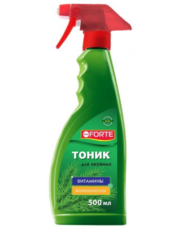 Спрей тоник для хвойных растений 500мл BONA FORTE
