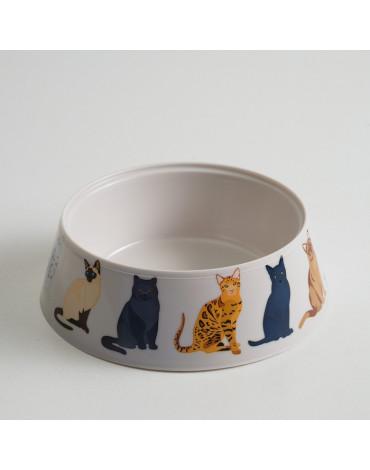 """Миска """"Cats"""" 0.3л. бежевая 4628049"""