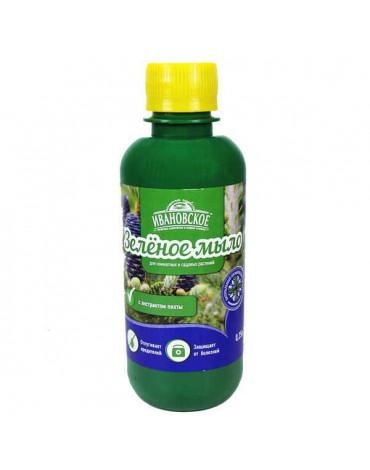 Мыло Зелёное с экстрактом пихты  250мл