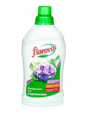 Удобрение жидкое садовое для Гортензии  1,0л FLOROVIT