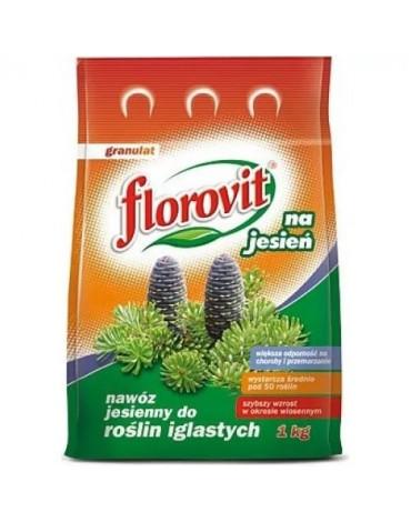 Удобрение гранулированное для хвойных растений осеннее 1кг FLOROVIT