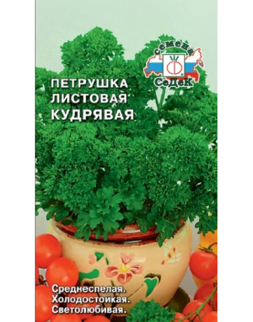 Петрушка Кудрявая листовая (Седек) б/п