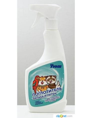 """Поглотитель запахов и очиститель туалетов, клеток для животных и птиц """"Уют""""180167"""