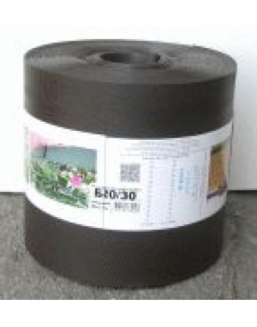 Лента бордюрная коричневая 30м БЛ- 20/30