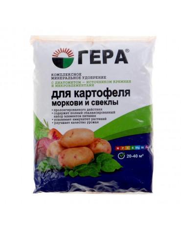 """Гера """"Для Картофеля, моркови и свеклыс диатомитом""""0,9кг"""