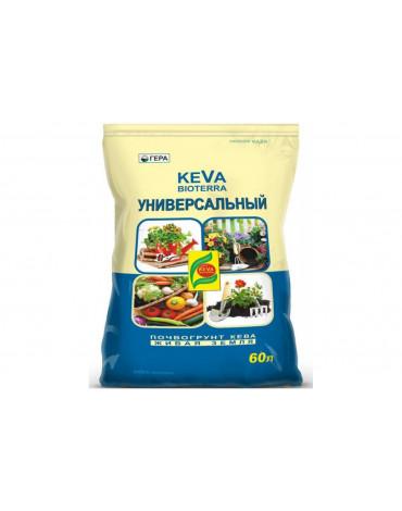 Почвогрунт универсальный с биогумусом  60л KEVA BIOTERRA