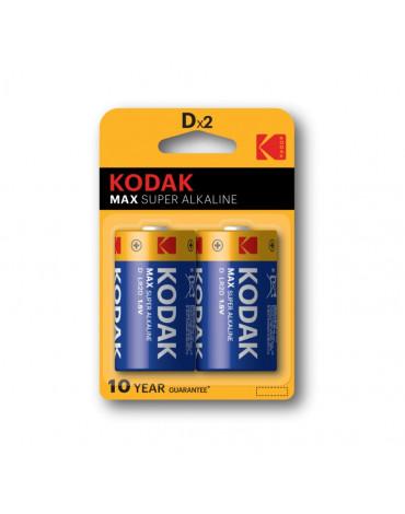 Элементы питания Kodak MAX LR20-2BL (KD-2)