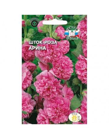 Шток - роза Арина (мальва) (Седек)