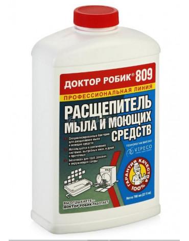 Расщепитель мыла и моющих средств 809  798мл Доктор Робик