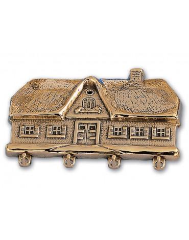 "Ключница""Дом"" (бронза,латунь) AL80.310"
