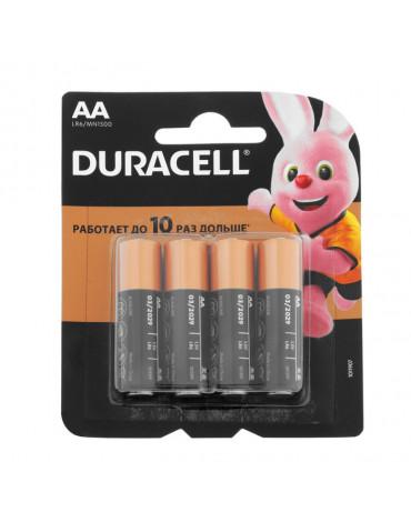 Элемент питания Duracell LR6-4BL  BASIC