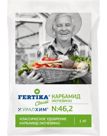 Карбамид (МОЧЕВИНА) 1,0кг  Фертика