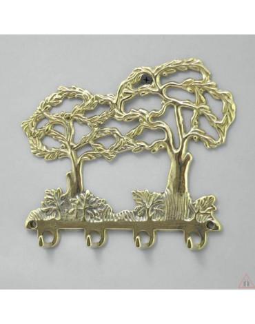 "Ключница""Деревья"" (бронза,латунь) AL80.302"