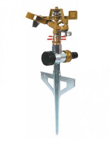 Разбрызгиватель 360град.,импульс,вращ,металл GWRS12-045 GREEN APPLE