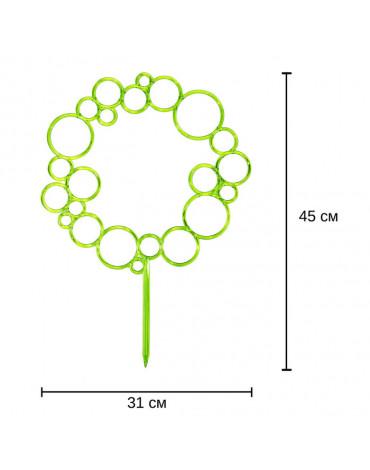 Поддержка Диадема для растений зелёный