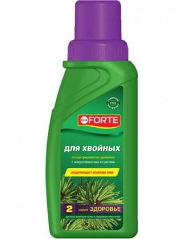 """Жидкое комплексное удобрение для хвойных растений""""Здоровье"""" 285мл BONA FORTE"""