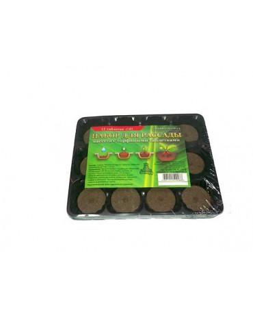 Набор д/выращивания рассады с тор. табл.(12 табл.d41мм+кассета+лоток)