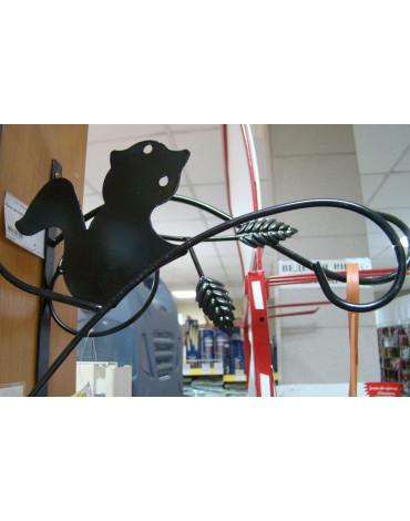 Крючок металлический Белочка для кашпо 31 см