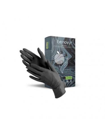 Перчатки BENOVY MultiColor.чёрные (W-NFTB) XL10