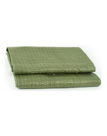 Мешки полипропиленовые зеленые  55*95   4660861