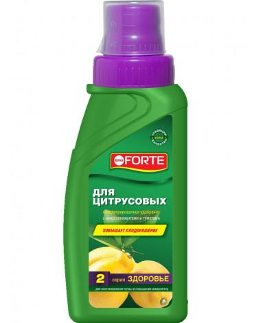 """Жидкое комплексное удобрение для цитрусовых """"Здоровье"""" 285мл BONA FORTE"""