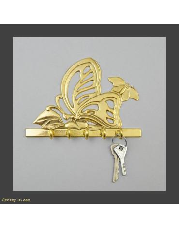 """Ключница""""Бабочка"""" (бронза,латунь) AL80.301"""