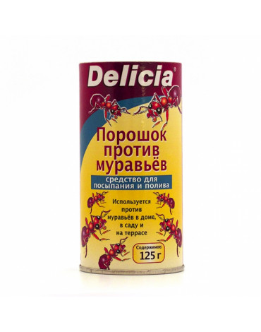 Порошок против муравьёв Delicia 125гр