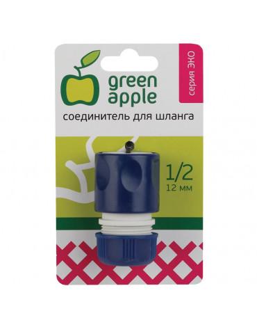 Соединитель (Коннектор) д/шланга 12мм(1/2) GAES20-04 GREEN APPLE