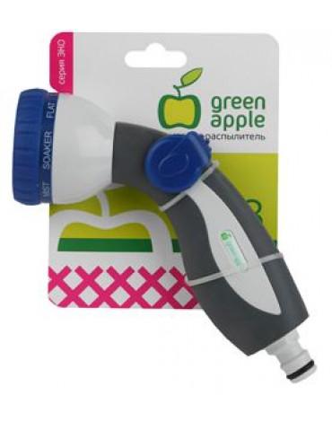 Пистолет - распылитель, пластик, 8 режим.GAEP12-02 GREEN APPLE